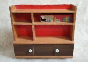 Details zu Schrank Frade 50er Jahre Möbel Puppenstube Holz/Kunststoff  Wohnzimmer