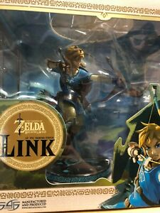 FIRST-4-FIGURES-THE-LEGEND-OF-ZELDA-BREATH-OF-THE-WILD-LINK-25cm-STATUE-ROTTO