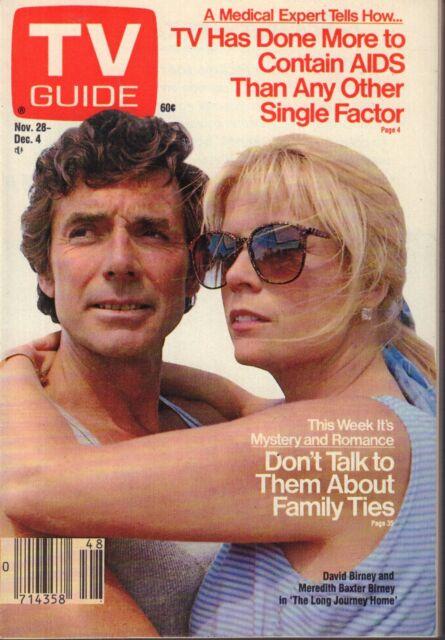 TV Guide Magazine Nov. 28-Dec. 4 1987 Meredith Baxter Birney 072217nonjhe