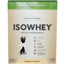 New 32g X 7 Sachets IsoWhey Complete Weight Loss Madagascan Vanilla High Protein