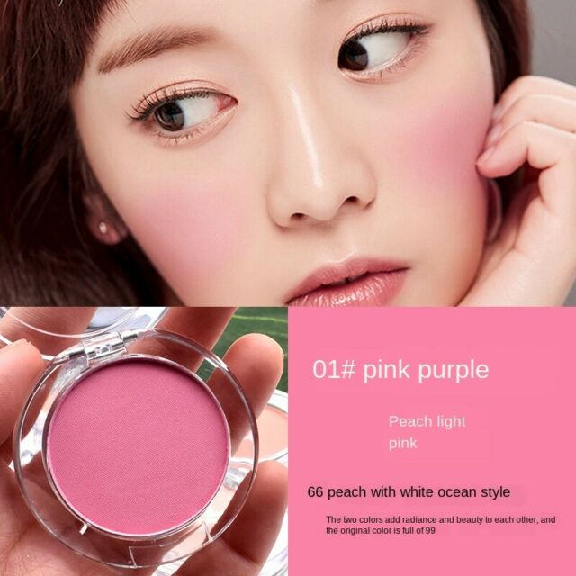 Single Color Long Lasting Blusher Matte Powder Face Makeup Contour Cosmetics