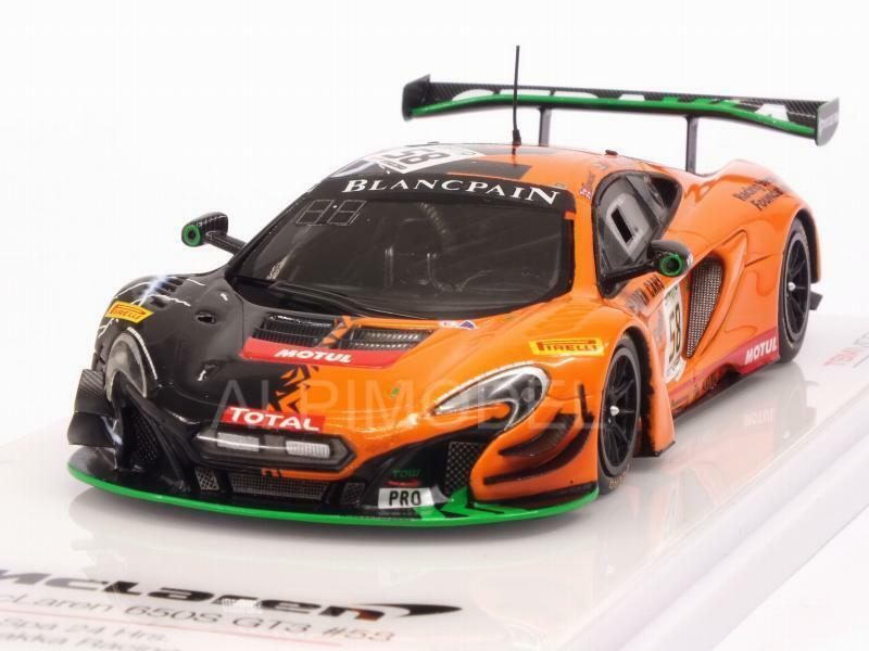McLaren 650S GT3 Strakka Racing 24h Spa 2017 1 43 TRUESCALE TSM430345