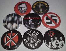 8 Dead Kennedys pin badges 25mm punk rock 1980's Jello Biafra Frankenchrist
