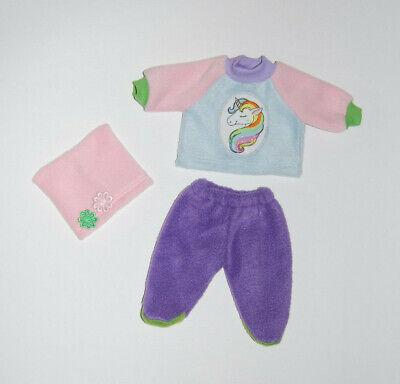 Puppenkleiderset,für 32cm große Puppen Jacke  Shirt Latzhose Puppenkleidung neu