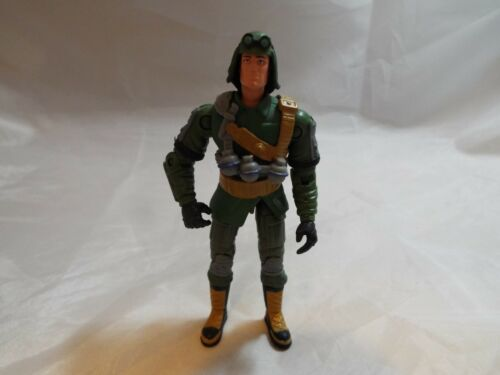 G.I.JOE ACTION FORCE FIGURE DUSTY V9 WITH BELT FROM 2002
