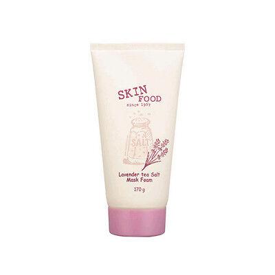 SKINFOOD Lavender tea Salt Mask Foam -Korea Cosmetics