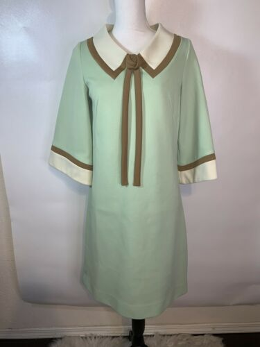 Vintage Nardis of Dallas 1960s Colorblock Dress Wo