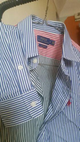 Nwot met mouwen Lauren Polo mouwen shirt gestreept lange Ralph Meerkleurig en lange qE58RY