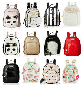 Image Is Loading Betsey Johnson Mini Small Travel Gym School Backpack