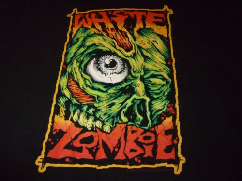 White Zombie Vintage 1997 Shirt Used Size L Very Nice Condition!