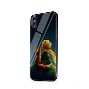LE-PETIT-PRINCE-en-Verre-Trempe-Brillant-Case-iPhone-5-6-6-S-8-7-plus-X-XR-XS-Max