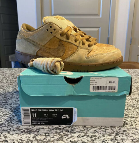 NIKE SB DUNK LOW REESE FORBES REVERSE WHEAT SIZE 1