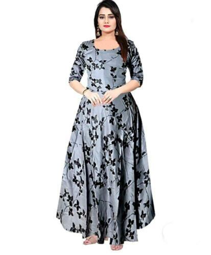 New Indian Kurta Kurti Bollywood Women Designer Dress Long Tunic Top Gown Maxi