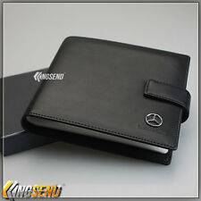 Mercedes Benz Leather CD Case Car DVD Holder Disk Storage Carry Box Music Wallet