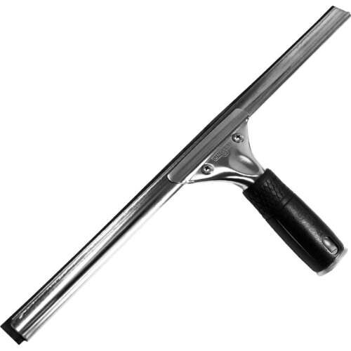 """Unger Professional Steel Squeegee with Bonus Rubber, 16"""""""