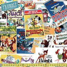 Springs Creative Fabric Greatest Love Story Multi PER METRE Walt Disney Cartoon