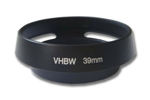 Parasol Metal Universal 39mm negro para Leica Summarit-M 1:2.5//35 mm