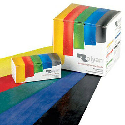 Rolyan Exercise Band - 3 Pack - DISCOUNTED - Resistance Band Set Yoga Bands