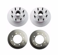 Ford E-250 99-05 Set Of 2 Rear And 2 Front Disc Brake Rotors Brembo on sale