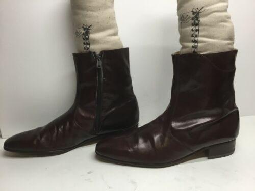 VTG MENS QUORUM SHORT CASUAL BROWN BOOTS SIZE 10 M