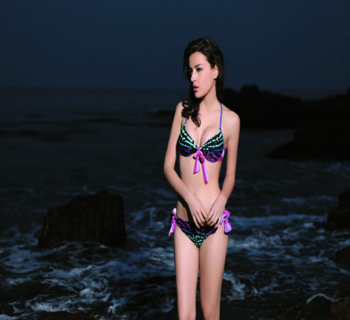 High quality Push-Up Padded Bikini Swimsuit set made in Italy US stock