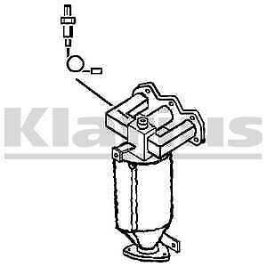 Klarius Catalytic Converter Catalyst Cat 322023 - BRAND NEW - 5 YEAR WARRANTY