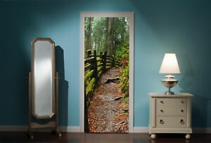 Door-Mural-Enchanted-Forest-View-Wall-Stickers-Decal-Wallpaper-25