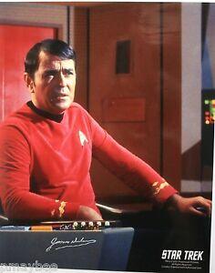 James-Doohan-034-Scotty-034-Star-Trek-The-Original-Series-8-034-X10-034-Autographed-Photo