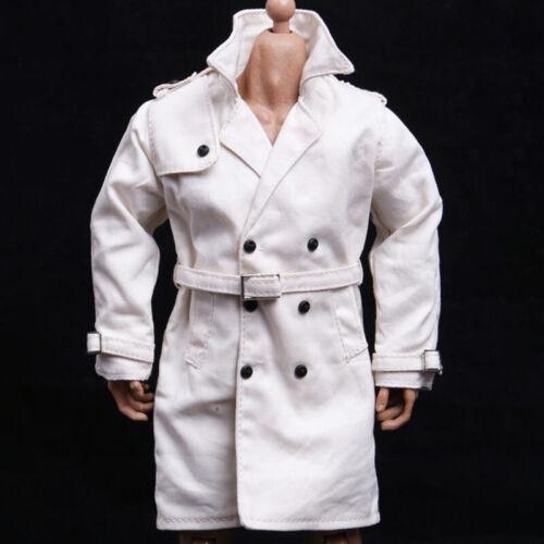 1//6 men Long dust coat British style handsome Men/'s clothing for Hot Toys body