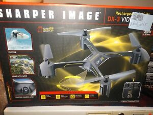 Sharper Image Dx 3 Video Streaming Drone New Open Box Retail 14999