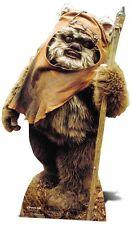 Wicket (Ewok) Star Wars Cardboard Cutout Stand up. Return of the Jedi Standee