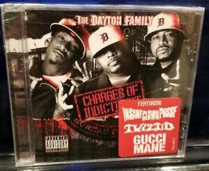 The Dayton Family - Charges of Indict CD SEALED insane clown posse esham twiztid