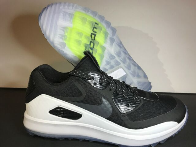 sale retailer 18751 a8393 Nike Air Zoom 90 IT Golf Shoes Spikeless Black White Oreo 844569-001 Men's  SZ 14