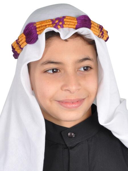 2019 Nuevo Estilo Tradicional Árabes Niños Sombrero Jeque Árabe Kopftuch- Kkb0011