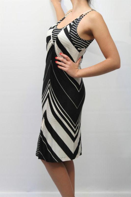ABITO  - - - 50% CLIPS TRICOT DONNA dress M002 2792 MIS.44 PP c57c7a
