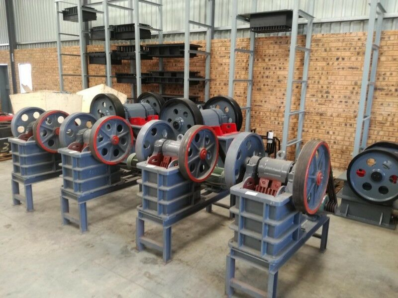 New Revaro Jaw Crusher 150-250