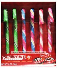 Bee* 6pc Cold Stone Creamery Ice Cream Flavored Candy Canes Candies Exp. 5/20