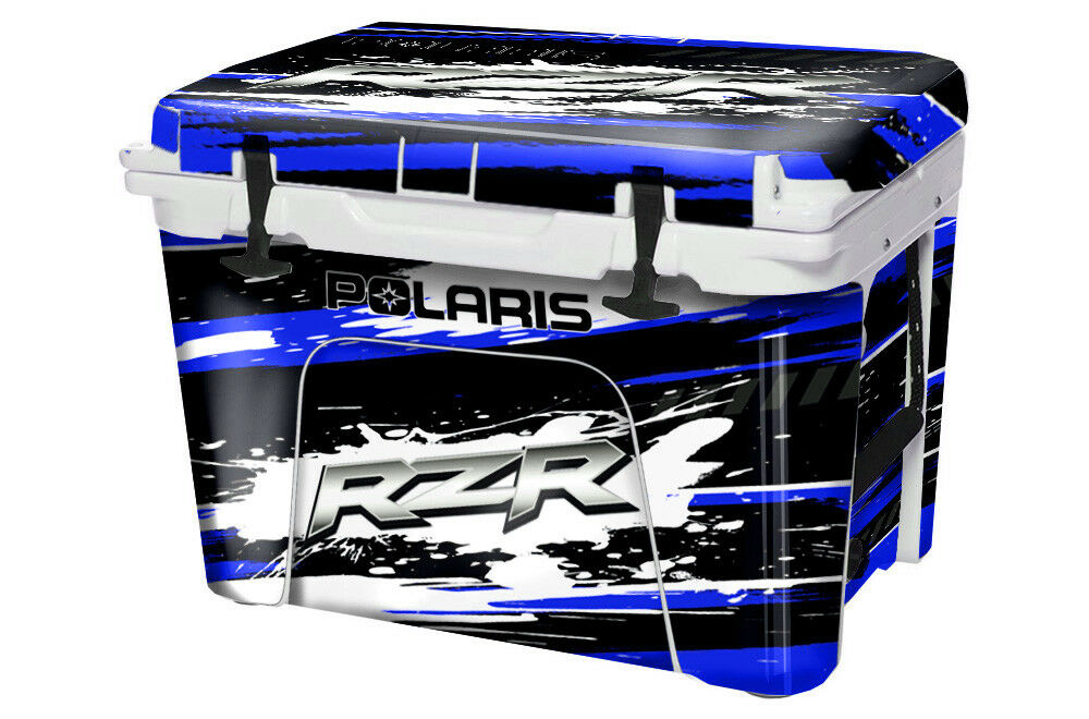 Graphic Full Skin Wrap Full Graphic Kit fits YETI 45qt Cooler -  Sale - RZR - Blau 1461cd
