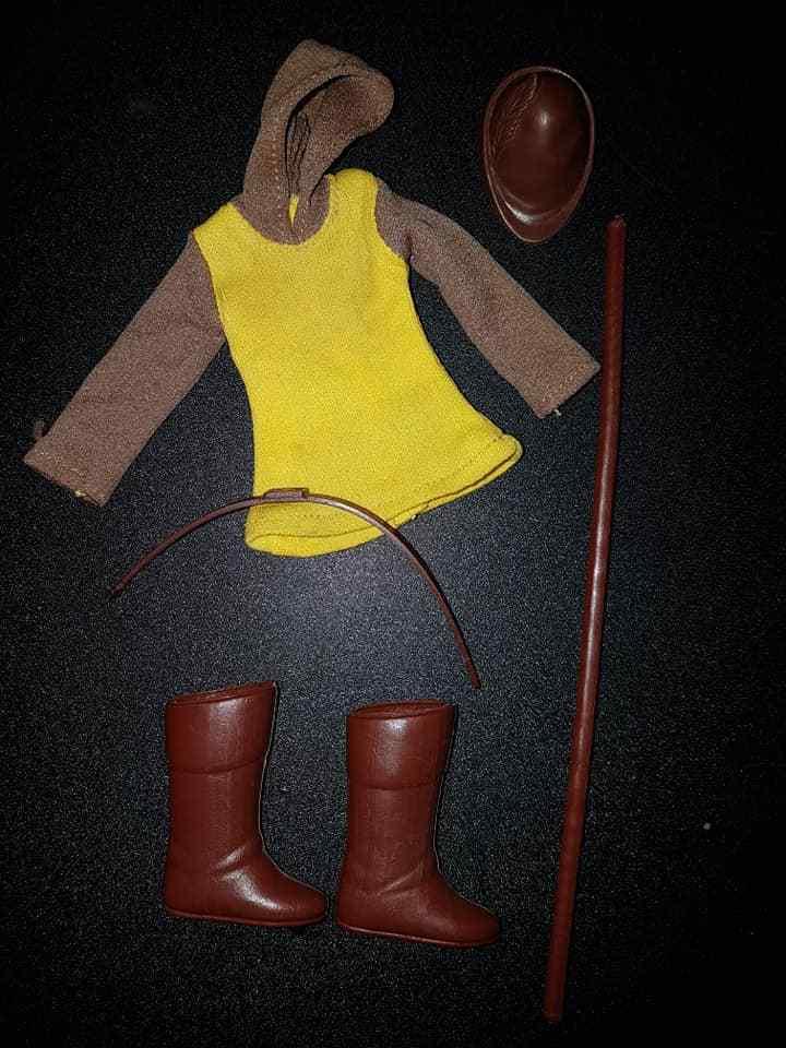 Mego ALL ORIGINAL 100% Robin Hood LITTLE JOHN súper Merry Men 8  Vintage
