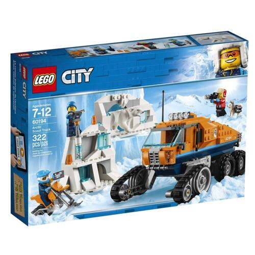 LEGO CITY 60194 FACTORY SEALED! ARCTIC SCOUT TRUCK POLAR BEAR DOG 322 PIECES