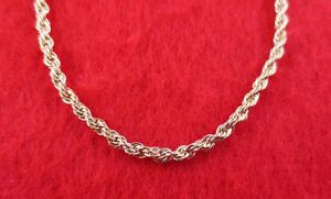 14KT-GOLD-EP-ROPE-CHAIN-NECKLACE-16-034-36-034-LIFETIME-GUARANTEE-1-7mm-TO-7-0MM