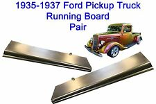 Ford Pickup Truck Steel Running Board Set 35,36,37 1935,1936,1937 - Made in USA