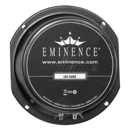 "Pair Eminence LA6-CBMR 6-1//2/"" Sealed Back Midrange Line Aray 8ohm Replacemnt"