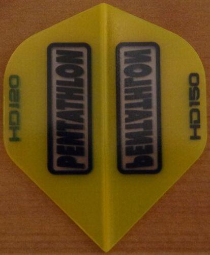 5 Sets Gold Pentathlon HD 150 Micron Dart Flights.