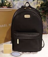 michael kors handbags on sale outlet snye  NWT MICHAEL Michael Kors JET SET NYLON Large Lightweight BLACK Backpack Bag  $298