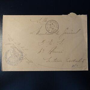 Lettre Cover Mailly Militaire Aube 1916 -> 4éme ArmÉe Pour Classer En Premier Parmi Les Produits Similaires