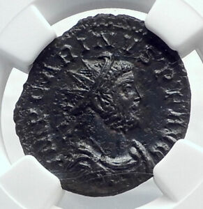 CARINUS-Authentic-Ancient-Lugdunum-283AD-Roman-Coin-VICTORY-NGC-Certified-i81624