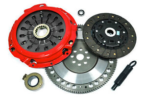 KUPP-STAGE-2-CLUTCH-KIT-FORGED-RACE-FLYWHEEL-2000-2005-MITSUBISHI-ECLIPSE-GT-GTS