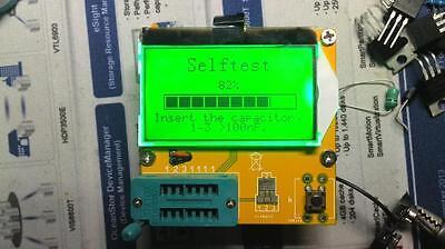 NEW LCR-T3 ESR Meter Transistor Tester Diode Triode Capacitance SCR inductance