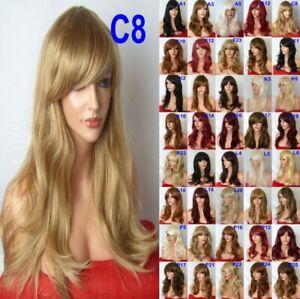Dark-Blonde-Ash-Golden-Long-Curly-Straight-Wavy-Womens-Ladies-Fashion-Adult-Wig